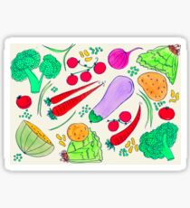 Vegetables!  Sticker