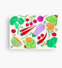 Vegetables!  Canvas Print
