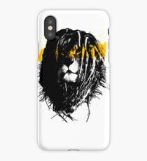 Lion rasta iPhone Case