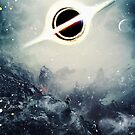 Black Hole Fictional Teaser Movie Poster Design by barrettbiggers