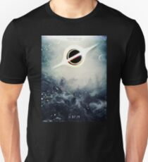 Black Hole Fictional Teaser Movie Poster Design Unisex T-Shirt