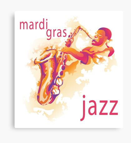 2016 Mardi Gras Jazz New Orleans NOLA 2016 Canvas Print