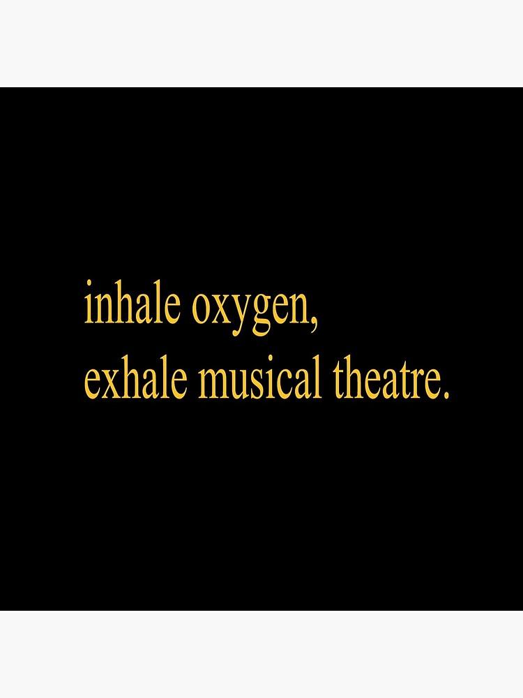 Exhale el teatro musical. de alyd