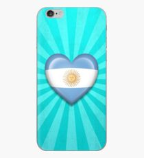 Argentinian Heart Flag iPhone Case
