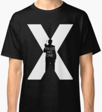 ♥♥♥ TRUST NO ONE X FILES ♥♥♥ Classic T-Shirt