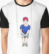 Swing Kid \ Cartoon Illustration Graphic T-Shirt