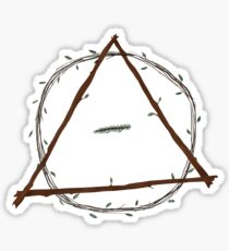 Therian symbol - forest Sticker