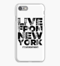 Live From New York, It's Saturday Night - Saturday Night Live iPhone Case/Skin