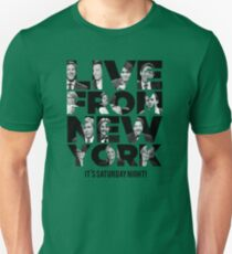 Live From New York, It's Saturday Night - Saturday Night Live Unisex T-Shirt