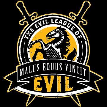 Evil League of Evil by deadbirdart