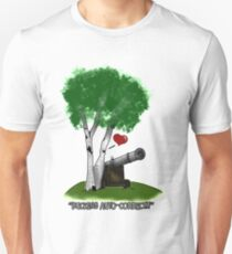 """Birches love cannons"" Unisex T-Shirt"