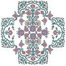 Mehndi Cross by redqueenself