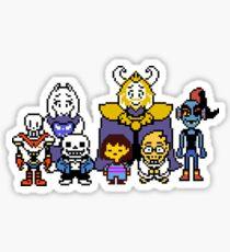 Undertale Family Sticker
