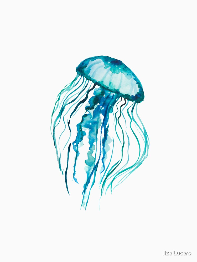 Aquarell-Quallen von ilzesgimene