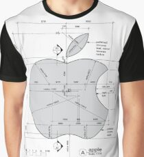 Apple Construction Dimensions Graphic T-Shirt