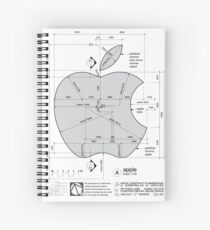 Apple Construction Dimensions Spiral Notebook