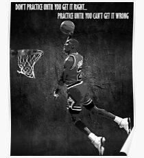 Michael Jordan Motivational Poster