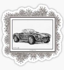 1965 Shelby AC Cobra Sticker