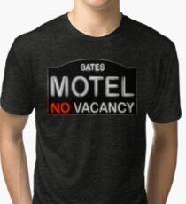 Bates Motel Sign Tri-blend T-Shirt