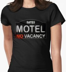 Bates Motel Sign Women's Fitted T-Shirt