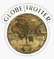 The Globe Trotter Sticker