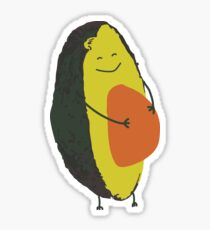 Happy Avocado Sticker