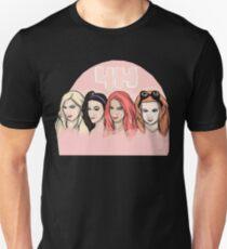 """4H"" Sasha Banks, Becky Lynch, Bayley, Charlotte T-Shirt"