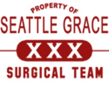 Property of Seattle Grace in Red  by hfournier