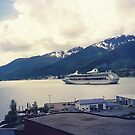 Cruise Ship in Alaska by lenspiro