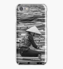 Vietnamese Boat Lady in Tam Coc iPhone Case/Skin