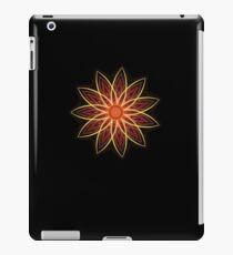 Fractal Flower - Red  iPad Case/Skin