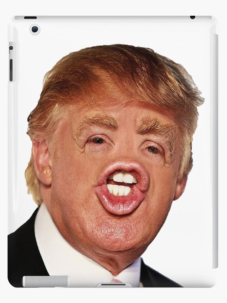 """Funny Donald Trump Meme"" iPad Case & Skin by KiyomiShop ..."