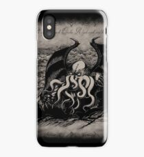 Cthulhu - Rise Great Old One iPhone Case