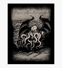 Cthulhu - Rise Great Old One Photographic Print