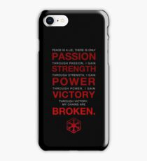 Code of the Sith iPhone Case/Skin