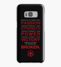 Code of the Sith Samsung Galaxy Case/Skin