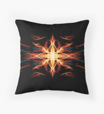 Energetic Geometry- Fire Element Throw Pillow