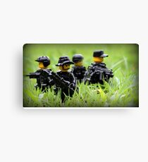LEGO Navy SEALs Canvas Print