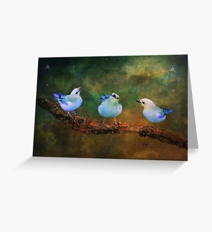 Faith Hope and Charity Greeting Card
