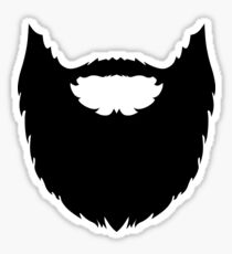The Beard! Sticker