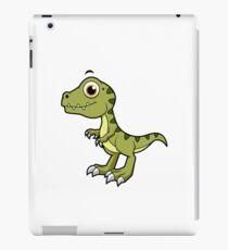 Cute illustration of a Tyrannosaurus Rex. iPad Case/Skin