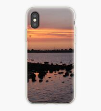 Sunset at NorthArm iPhone Case