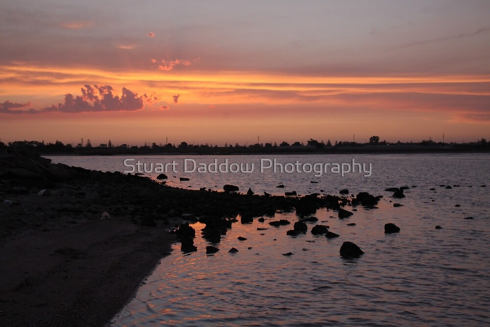 Sunset at NorthArm by Stuart Daddow Photography