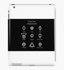 Thieves Guild Symbols/Know Your Symbols iPad Case/Skin