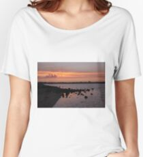 Sunset at NorthArm Women's Relaxed Fit T-Shirt