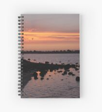 Sunset at NorthArm Spiral Notebook