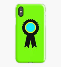 competitive ribbon iPhone Case/Skin