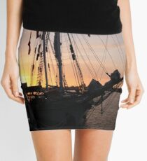 One and All at Sunset Mini Skirt
