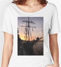 One and All at Sunset Women's Relaxed Fit T-Shirt
