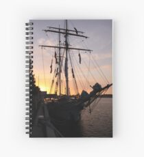One and All at Sunset Spiral Notebook